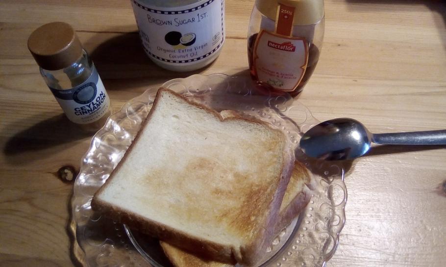 ココナッツオイル トースト カンジダ アトピー